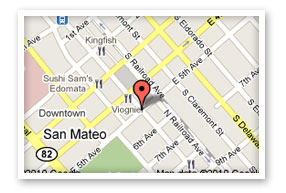 We are located at 501. S. B Street San Mateo CA 94401